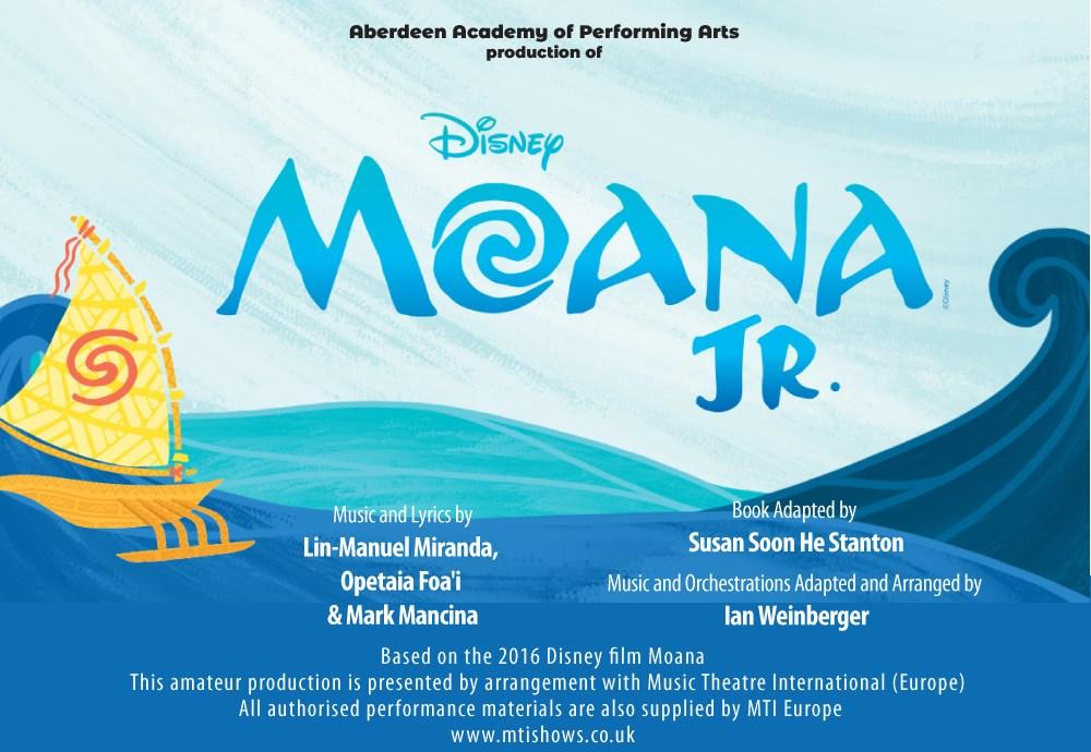 Aberdeen Academy of Performing Arts Presents Disney's Moana Jr